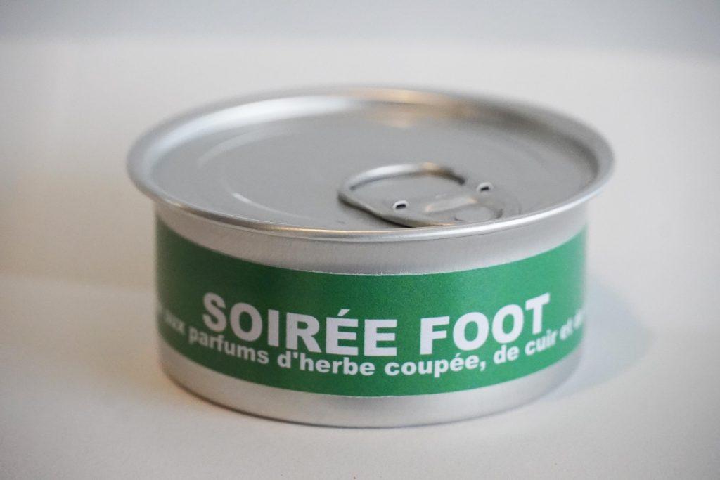 Bougie naturelle foot