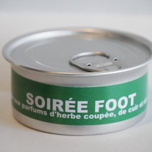 Bougie naturelle foot